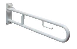 Barra sostegno 85 cm con portacarta