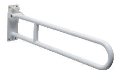 Barra sostegno bianca ribaltabile cm 85